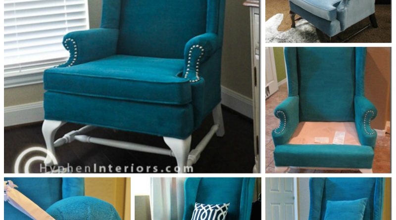 comment repeindre son fauteuil pr f r tach. Black Bedroom Furniture Sets. Home Design Ideas