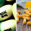 Depression-curcuma-prozac