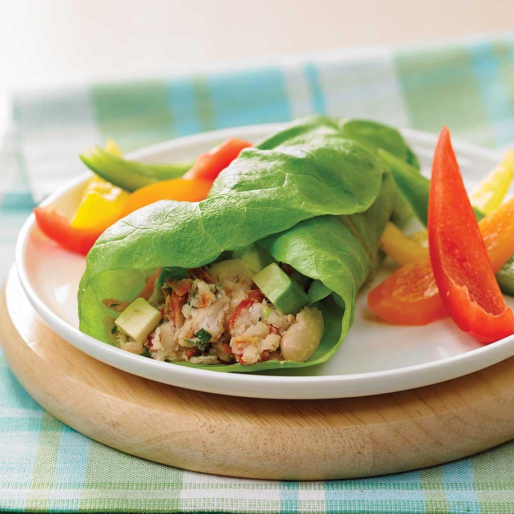 Fresh.Avocado.and.Bean.Lettuce.Wrap.ipad