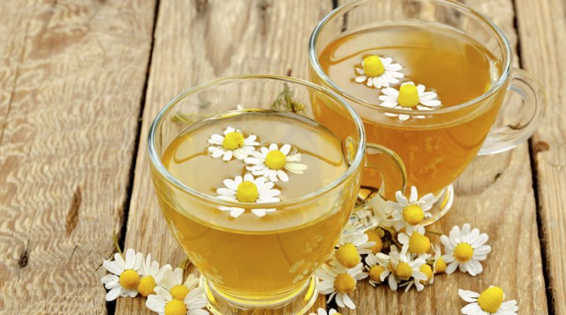 cups of chamomile