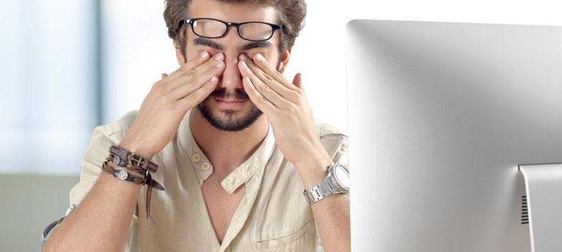 7 exercices faire contre la fatigue visuelle. Black Bedroom Furniture Sets. Home Design Ideas
