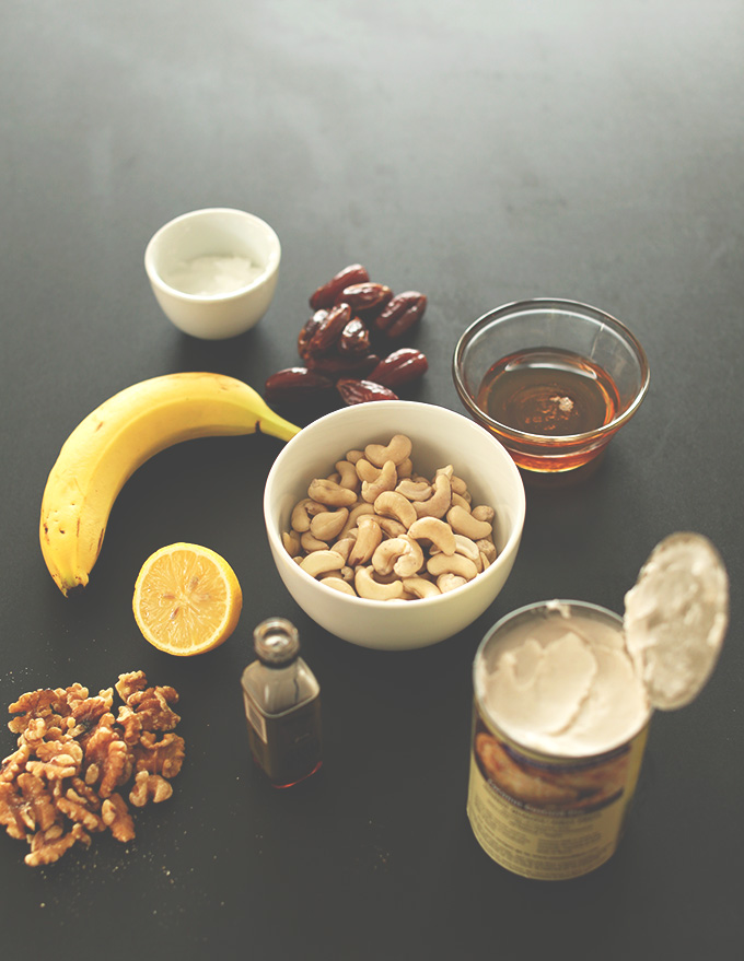 ingredients-cheesecake-banane