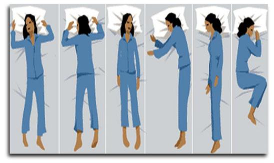 8 positions courantes pour dormir et leurs effets sur la sant u00e9